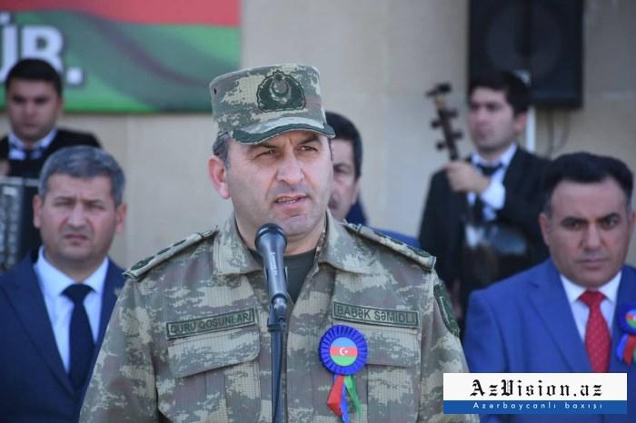 Farewell ceremony held for martyrColonel Babek Semidli