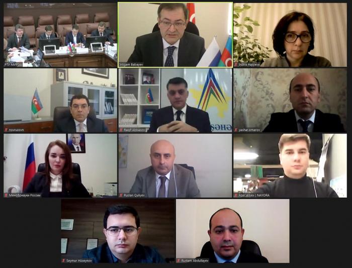Azərbaycan və Rusiya arasında tədbirlər planı qəbul edildi