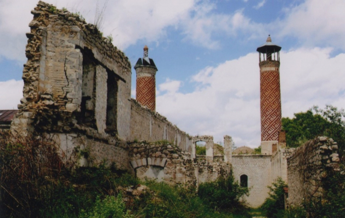 63 mosques completely destroyed in Nagorno-Karabakh and adjacent regions