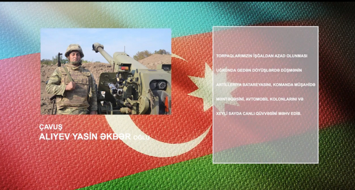 Another hero of Azerbaijani Army -   VIDEO