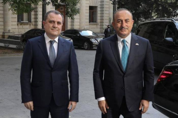 Azerbaijani, Turkish FMs meet in Baku