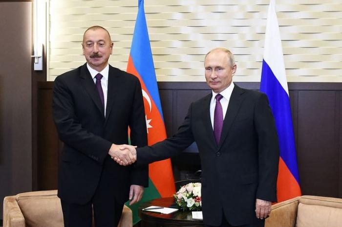 Azerbaijani, Russian presidents had phone conversation