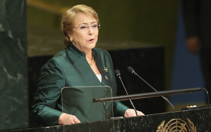 Indiscriminate attacks in populated areas may increase war crimes, says UNHRC chief Michelle Bachelet
