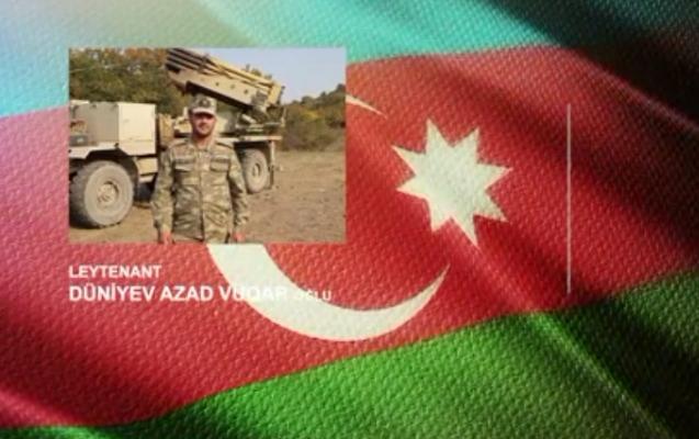 Another brave serviceman of Azerbaijani Army -   VIDEO
