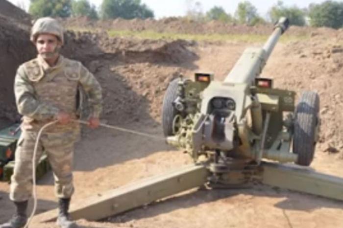 Brave serviceman of Glorious Azerbaijani Army -  VIDEO