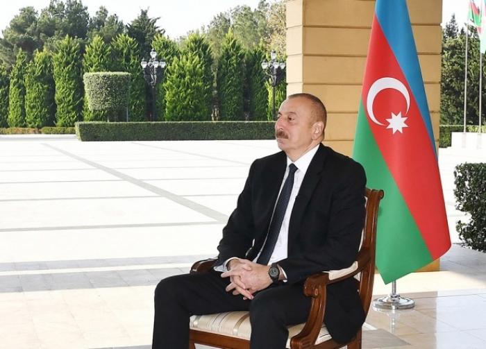 """""""Paşinyan dəstək əldə etmək üçün feyk üsuldan istifadə edir"""" -  Prezident"""