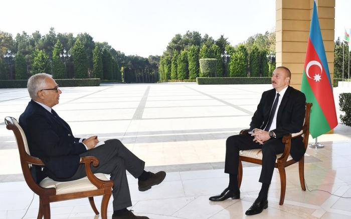 President Ilham Aliyev interviewed by Italian newspaper - UPDATED