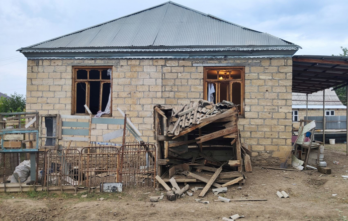 Villages of Azerbaijan's Aghdam under Armenian shelling