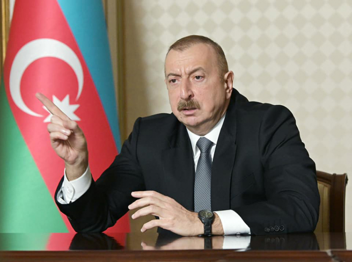 Ilham Aliyev: Azerbaijan has enough evidence about foreigners fighting on Armenian side