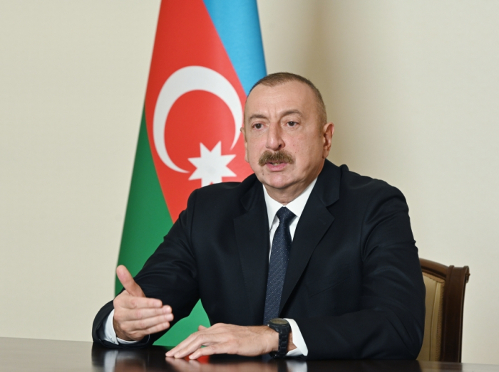 """""""I don't see any sense meeting with him""""- President Aliyev"""