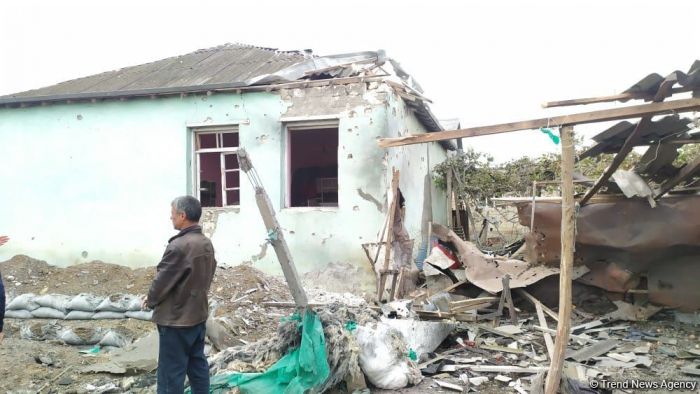 Armenia continues shelling villages of Agdam region violating ceasefire