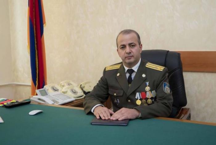 Ermənistanın MTX rəhbəri işdən çıxarıldı