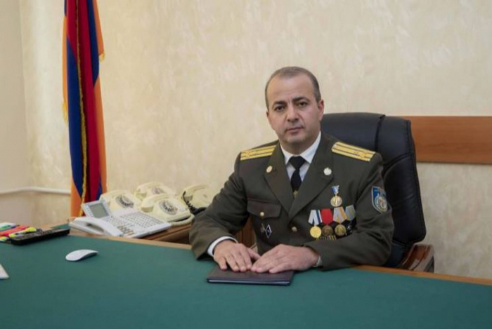 The head of the Armenian NSS dismissed