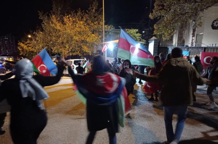 Ankarada Şuşa coşqusu