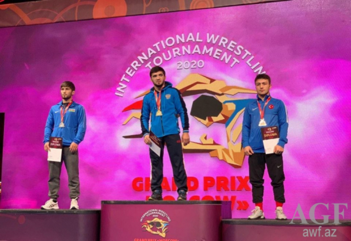 Azerbaijani wrestlers win five medals in Moscow