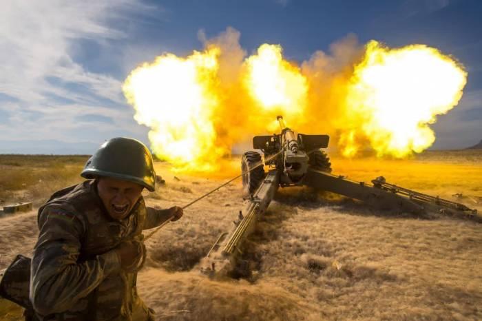 Azerbaijan Army takes retaliatory actions against legitimate military targets