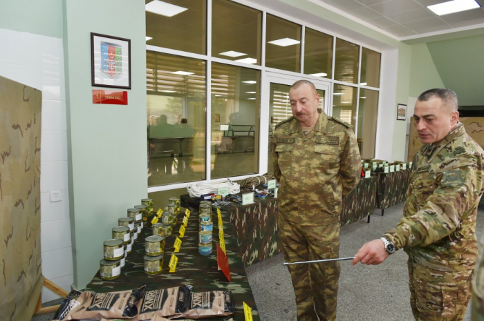 President Ilham Aliyev congratulates military personnel of Azerbaijani Armed Forces
