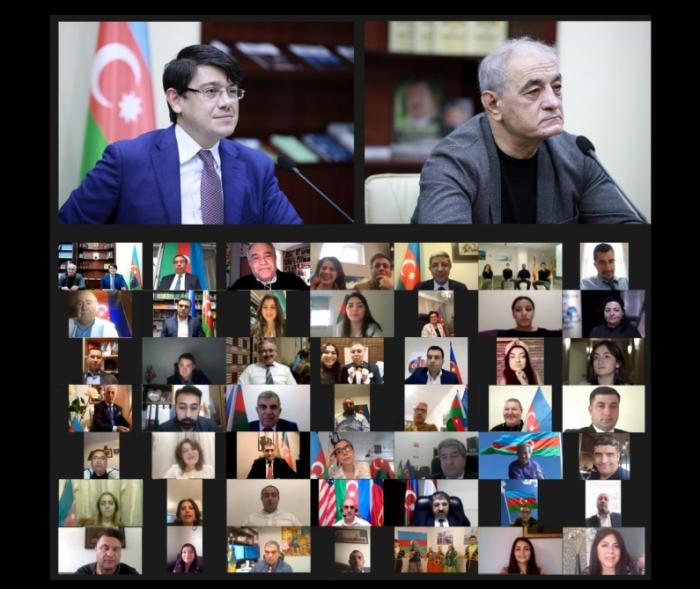 """Dünya azərbaycanlıları """"Bir olaq, Qarabağa dəstək olaq!"""" dedi"""