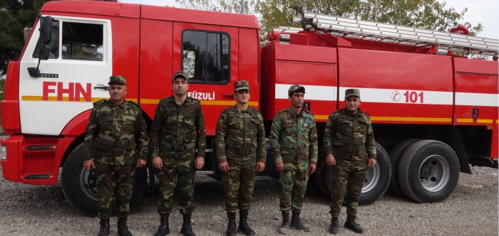 Azerbaijan begins establishing fire departments in liberated lands -   PHOTO