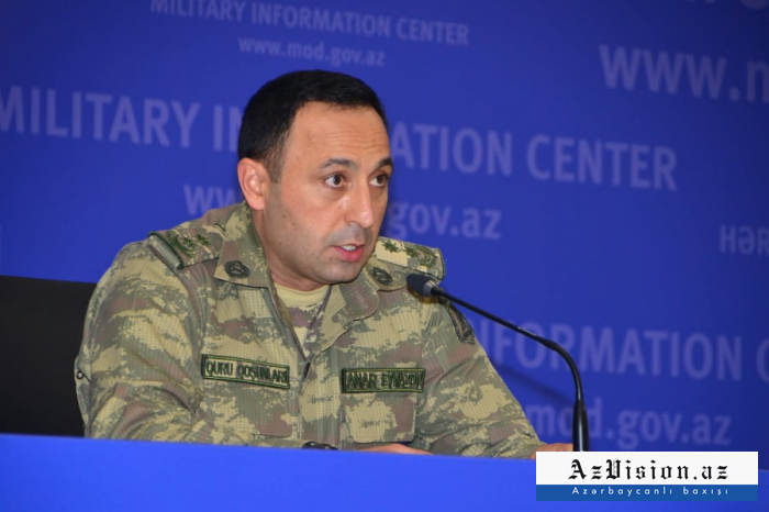 Azerbaijani soldier moving towards another target: Defense Ministry