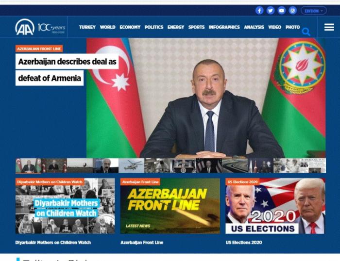 Armenia surrenders in Karabakh: Turkish media