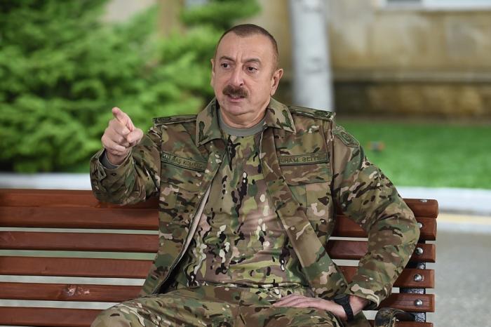 """İlham Əliyev:   """"Qələbənin birinci qəhrəmanı Azərbaycan əsgəri, zabitidir"""""""