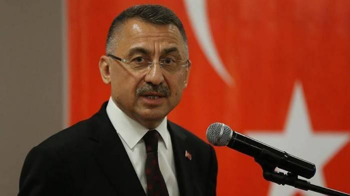 Turkish VP Fuat Oktay welcomes agreement to end Nagorno-Karabakh conflict