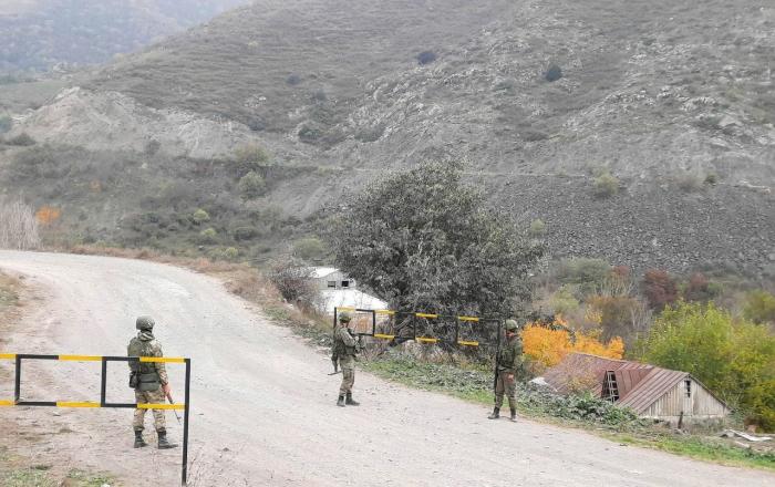 Russian peacekeepers take control of Lachin corridor