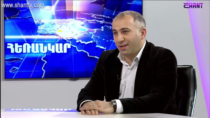 Political expert says 'there is a threat to Armenian state and people'