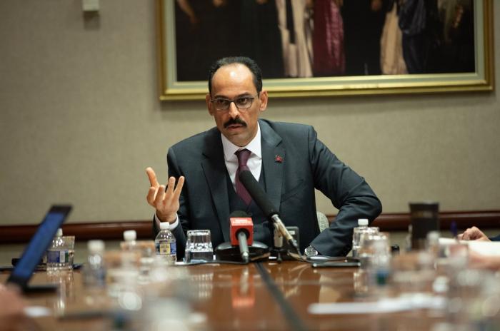 Turkish presidential spokesman, MI6 chief discuss Nagorno-Karabakh