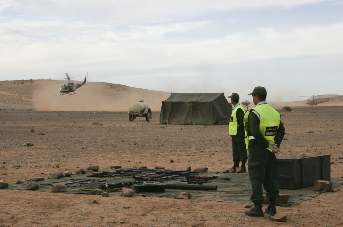 Moroccan troops launch operation in Western Sahara border zone