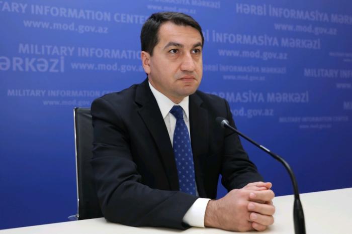 Armenians set fire to civilian objects in Azerbaijan