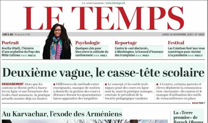 """""""Le Temps"""":  Kəlbəcərdə onlarla ev yanır"""