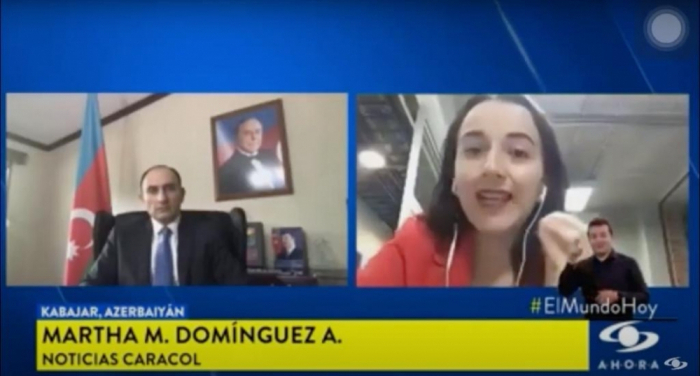 Armenian crimes discussed on Colombian TV Channel
