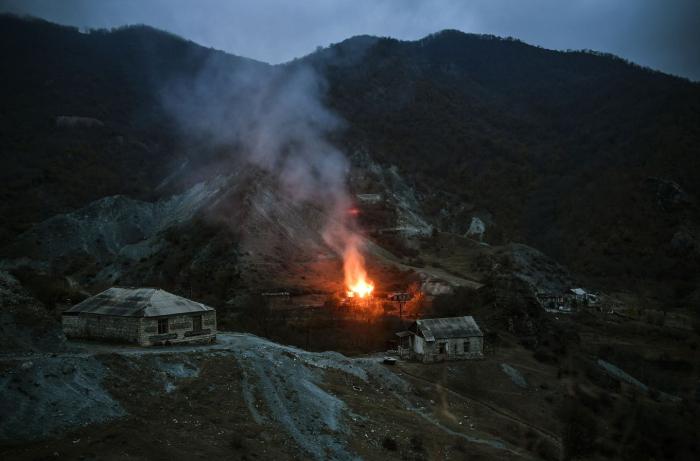 Armenia continues eco-terrorism against Azerbaijan in Kalbajar region