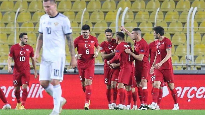Turkey beat Russia 3-2 in Istanbul -Nations League