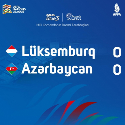Azerbaijan, Luxembourg play out goalless draw at UEFA Nations League