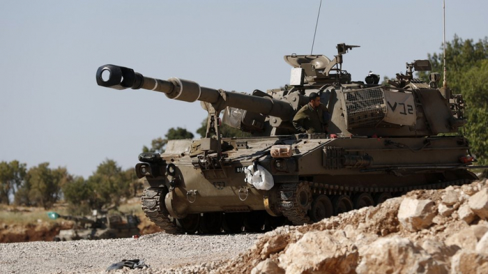 Israeli military says it launched air strikes against Syrian, Iranian forces in Syria