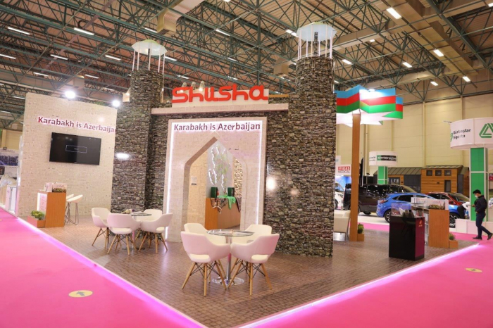 """Karabakh is Azerbaijan"" stand opens at Istanbul expo"