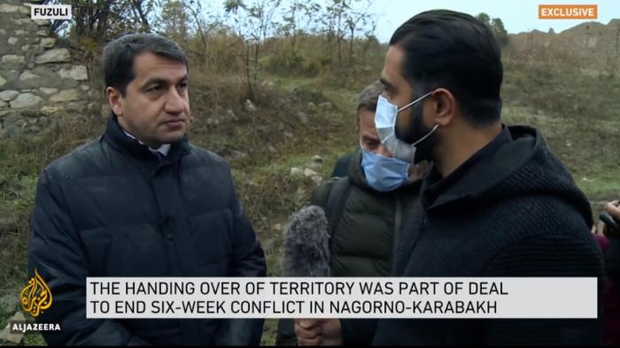 La chaîne de télévision «Al Jazeera» a diffusé un reportage sur la ville de Fuzouli - VIDEO