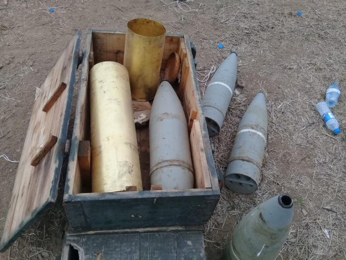 ANAMA finds 55 pieces of unexploded ordnance