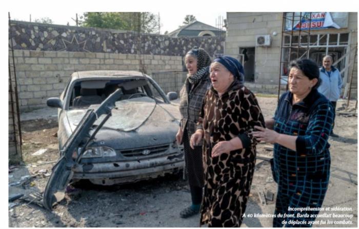 Fransa jurnalı Ermənistanın törətdiyi vəhşiliklərdən yazır