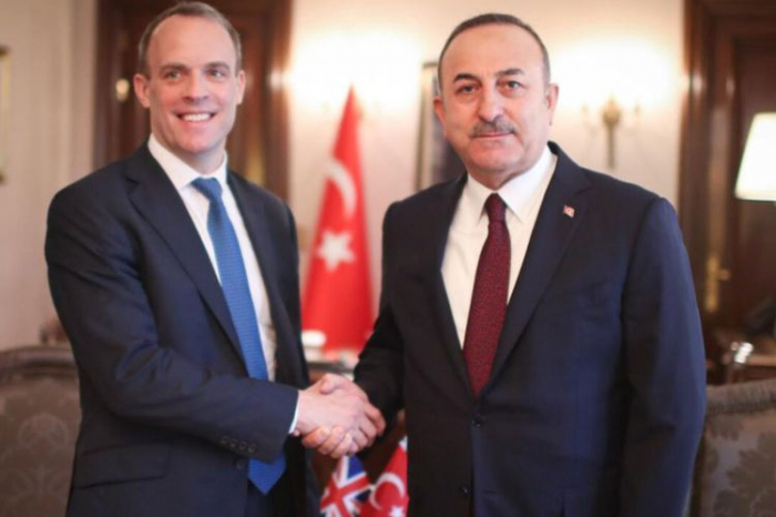 Turkish FM discusses Nagorno-Karabakh peace deal with his British counterpart