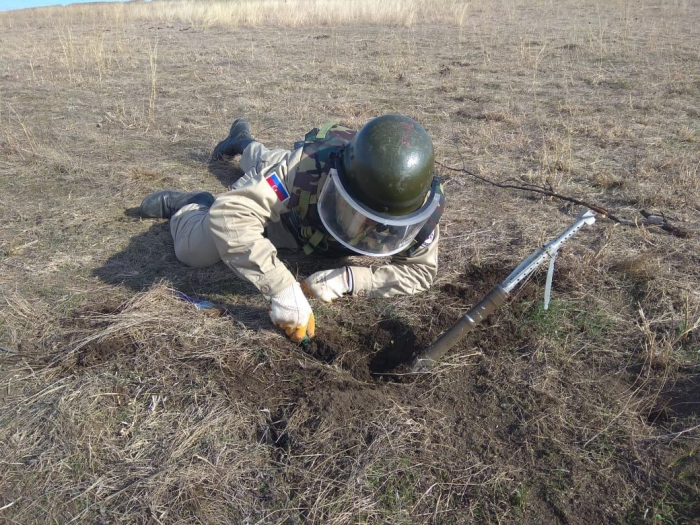 Mine clearance carried out liberated Fuzuli district of Azerbaijan