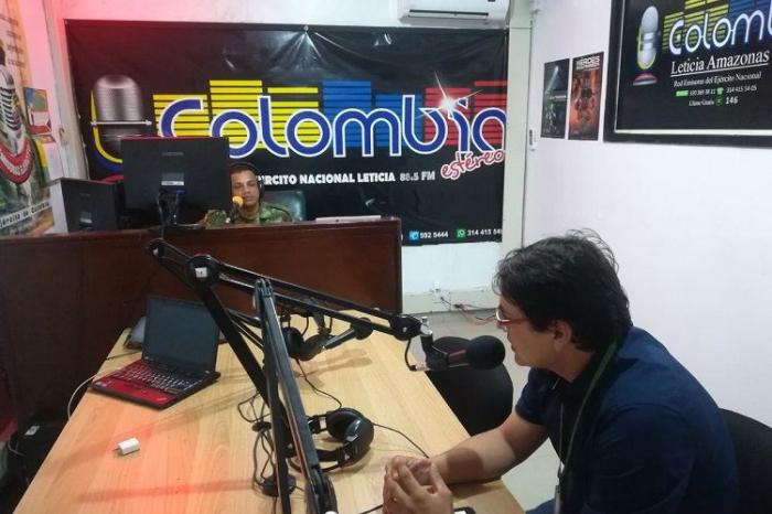 Kolumbiya radiosunda Qarabağ münaqişəsindən danışıldı