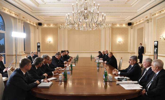 President Ilham Aliyev received Russian Foreign Minister Sergey Lavrov