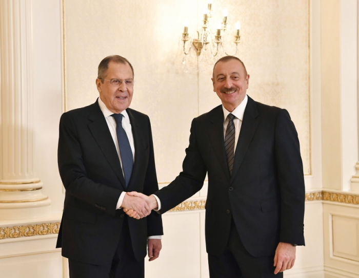 """""""A promising new situation has emerged in the region"""" - Ilham Aliyev"""