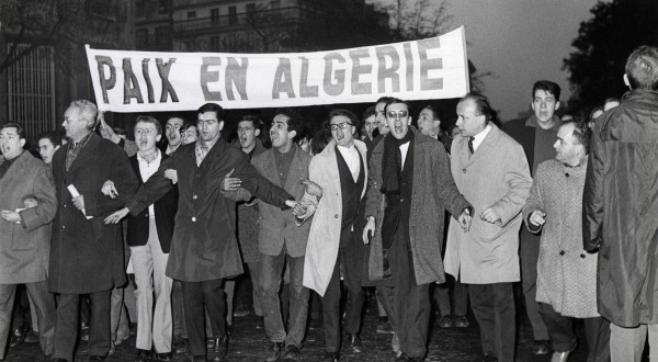 France:  une manifestation pacifique d