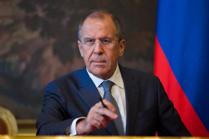 Russian FM Sergei Lavrov arrives in Azerbaijan
