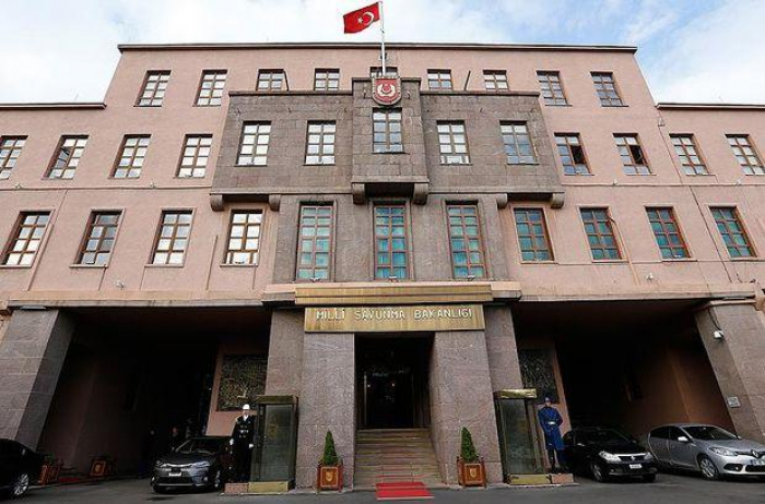 Ministère turc de la Défense nationale:  «L